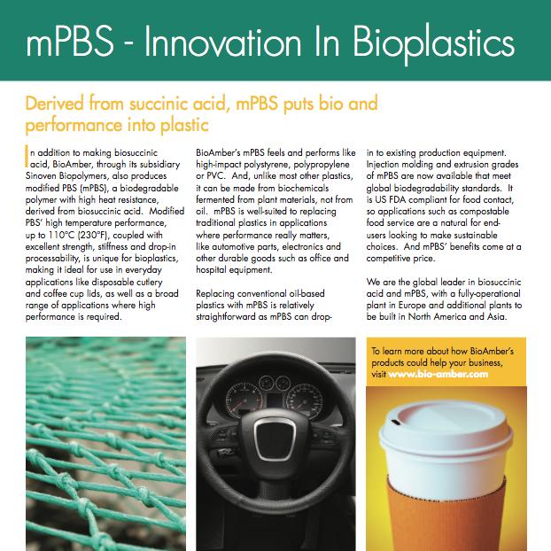 BioAmber Factsheet mPBS 2012