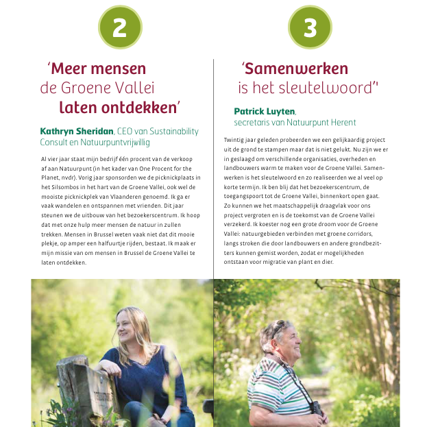 Kathryn Sheridan Interview in Natuur.Blad Summer 2016