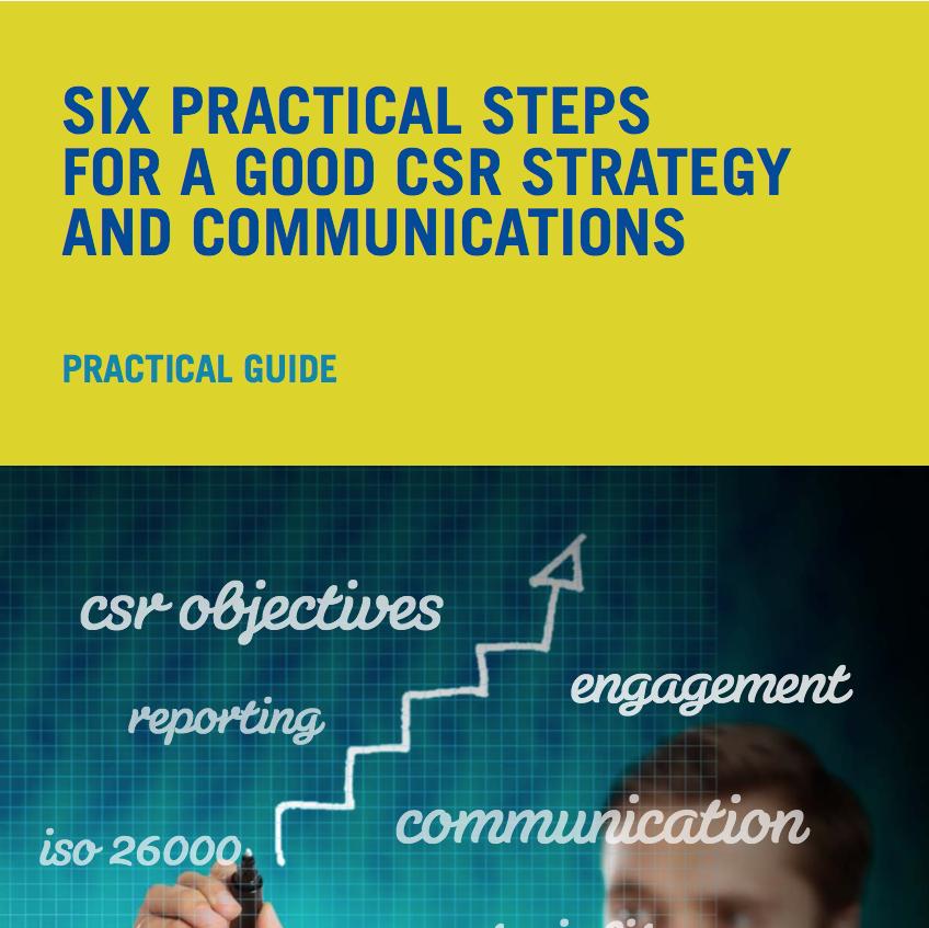 CSR Strategy and Communications Report 2013 - Six Practical Steps for a Good CSR Strategy and Communications