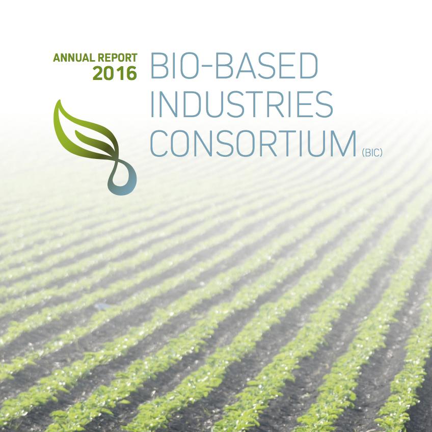 Bio-based Industries Consortium Annual Report 2016