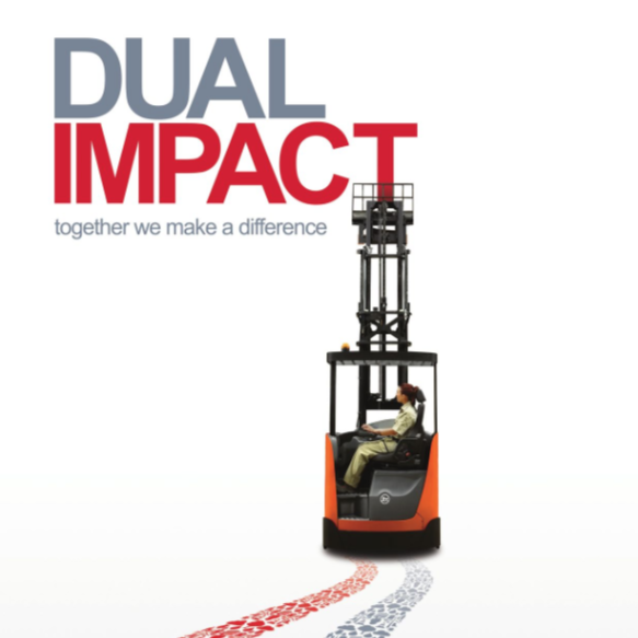 Toyota Material Handling Europe Sustainability Report 2015 - Dual Impact, Together We Make a Difference
