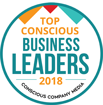 Top Concious Business Leaders 2018 Logo