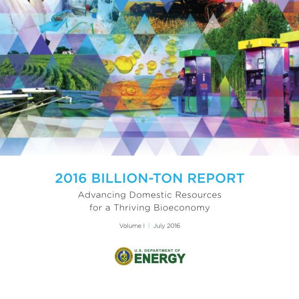 US Energy Department - Billion Ton Report 2016