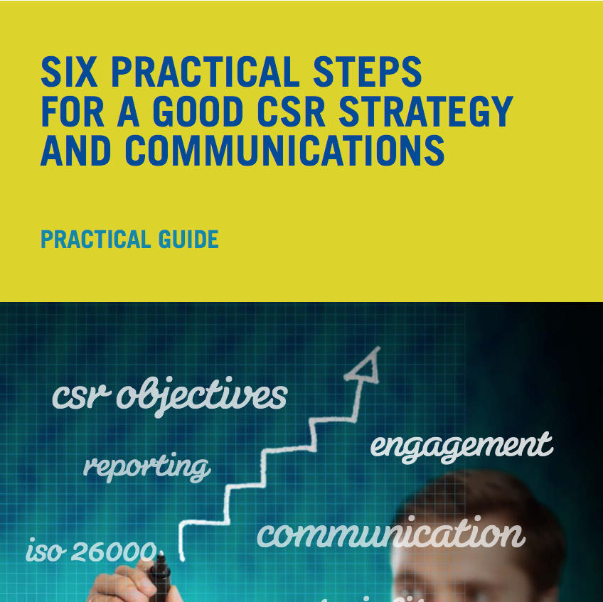 CSR Strategy and Communications Report 2013 - Six Practical Steps for a Good CSR Strategy and Communications