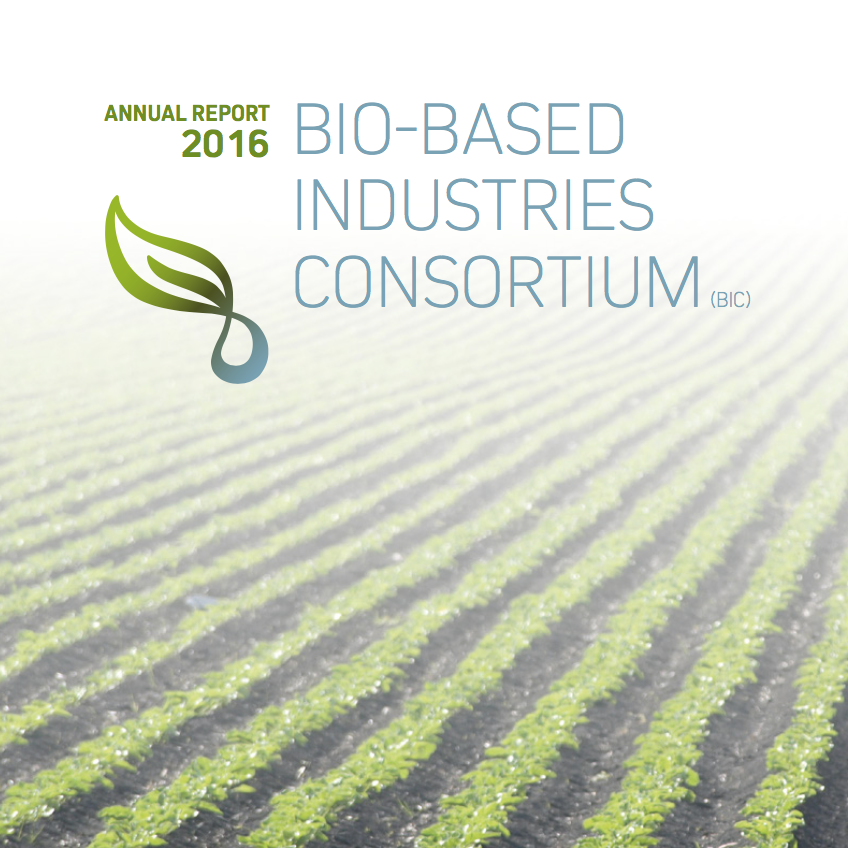 Bio-based Industries Consortium Annual Report 2016